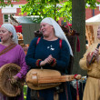 The Medieval Market in Turku — 图库照片