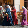 The Medieval Market in Turku — Stock Photo