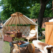 The Medieval Market of Turku — Stockfoto