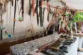 中世纪市场的图尔库 — 图库照片