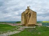 Statua di hetman sahaidachny, ucraina — Foto Stock