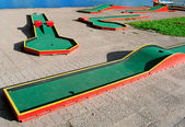 Miniature golf course — Stock Photo