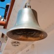 Bell on the sailing ship — Stock Photo
