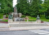 Fountain by Emil Wikstrom — Stock Photo
