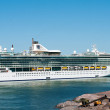 Stock Photo: Passenger ship Brilliance of Seas in port of Helsinki, Fin