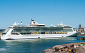 Passenger ship Brilliance of the Seas in port of Helsinki, Fin — Stock Photo