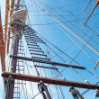 Rope ladder of the ship — Stock Photo