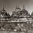 Buddist temple Borobudur. Yogyakarta. Indonesia — Stock Photo