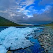 Stock Photo: Landscape of Polar Ural mountains