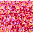 Background of fresh colorful flower petals — Stock Photo
