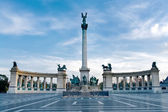 Budapest Heroes square — Stok fotoğraf