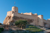 Nakhal Fort in Sultanate Oman. — Stock Photo