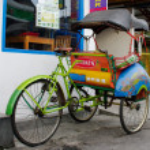 Постер, плакат: Cyclo rickshaw