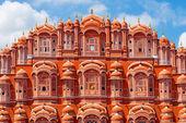 Hawa Mahal palace (Palace of the Winds) in Jaipur, Rajasthan — Stock Photo