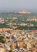 View to blue city Jodhpur — Stock Photo
