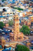 Clock tower in Jodhpur — Stock Photo