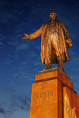 ウラジーミル ・ レーニン像記念碑 — ストック写真