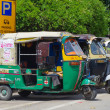 Auto rickshaw taxi , India — Stock Photo