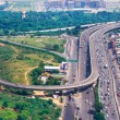 Top view on  Delhi — Stock Photo