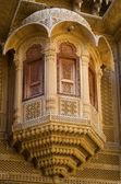 Architecture detail of Patwa Haveli in Jaisalmer, Iindia — 图库照片
