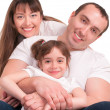 Beautiful happy family — Stock Photo #36247309