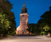 Medieval Turku cathedral in Finland — 图库照片