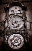 Astronomical clock in Prague — Fotografia Stock