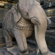 Stone sculpture in Hindu temple in Khajuraho, India. — Stock Photo