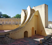 Ancient astronomical observatory Jantar Mantar in Jaipur, Rajast — Stock Photo