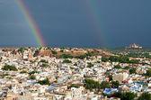 View of Jodhpur (Blue city).Rajasthan, India — Stock Photo