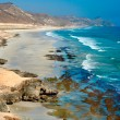 Stock Photo: Beach near Al Mughsayl, Salalah, Oman