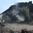 Stock Photo: Sibayak volcano at island Sumatra
