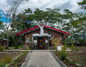 A Catholic church in Wamena, Papua Province, Indonesia — Stok fotoğraf