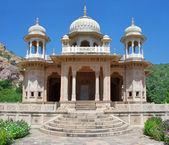 Gatore ki chhatriyan, jaipur, rajasthan, Indien. — Stockfoto