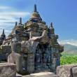 Buddist temple Borobudur. Yogyakarta. Java, Indonesia — Stock Photo