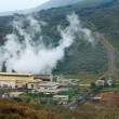 Stock Photo: Olkaria II geothermal power plant in Kenya