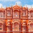 Stock Photo: HawMahal palace (Palace of Winds) in Jaipur, Rajasthan