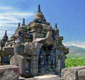 Buddist temple Borobudur. Yogyakarta. Java, Indonesia — Foto Stock