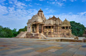 Temple in Khajuraho. Madhya Pradesh, India — ストック写真