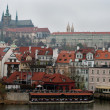 Castle above River Vltava, Czech Republic — Stockfoto #39540267