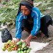 Local market in Wamena — Stock Photo