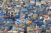 Weergave van jodhpur (blauwe stad). india — Stockfoto