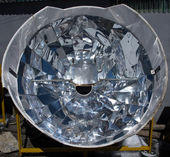 Solar cooker in the Himalaya mountains — Stock Photo