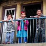 Nepalese children — Stock Photo #48465637