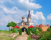 Christian Orthodox church in Old Orhei — Stock Photo