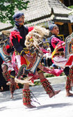 Javanese traditional dancers — Stock Photo