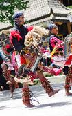 Javanese traditional dancers — Stock Photo