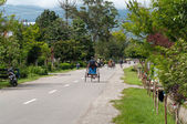 Trishaw drivers — Stockfoto