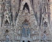 Detail of Sagrada Familia — Stock Photo