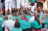 Castells Performance — Foto de Stock